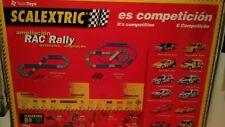 Scalextric RAC Rally. Circuito Xsara WRC.Edición limitada concesionarios Citroen