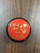 Oil of Joy 1/3oz Hyssop Holy Fire Anointing Balm