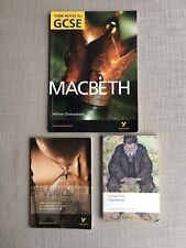 Merchant of Venice, Macbeth by W. Shakespeare- York Notes for GCSE & Silas Marne