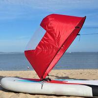 Foldable Kayak Boat Wind Sail Sup Paddle Board Sailing Canoe stroke RowingPLUS