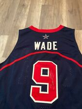 Dwyane Wade Signed Autograph Miami Heat Jersey NBA Dream Team USA AUTHENTIC
