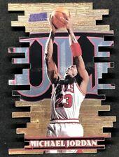 MICHAEL JORDAN 97-98 Topps Stadium Club TRIUMVIRATE LUMINOUS LASER-CUT ! BULLS !