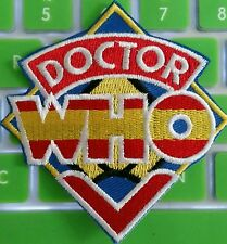 Doctor Who Original TV Show Logo Tardis embroidered Iron-on Patch U.S. Seller