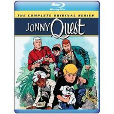 Johnny Jonny Quest: The Complete Original Series 1964 (Blu-ray) 3-Disc Set New!