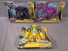 Transformers Cyberverse BUMBLEBEE Shockblast SHOCKWAVE SHADOW STRIKER NEW 2017