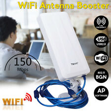Wireless Wifi Signal Booster Repeater Antenna Router Range Extender Up to 3000m