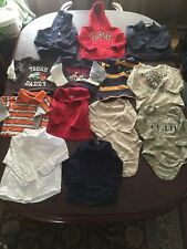 Boys 12 Month Shirt/hoodie Lot~13 Pieces