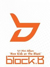K-POP BLOCK B 1st Mini Album [New Kids on the Block] CD + Photobook Sealed