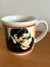 """Gone with the Wind 50th Ann. Coffee Mug  Gable History of Role   3 5/8"""""""