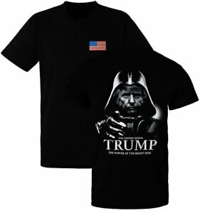 Donald Trump Darth Vader Power of the Right Side Shirt