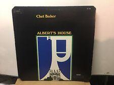 CHET BAKER - Alberts House ~ BAINBRIDGE 1040 Recorded: 1973 wBarney Kessel >RARE