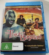 The Thief Of Bagdad Blu-ray Fantasy Movie 1940 Rare Region Free Disc