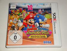 3ds gioco Mario & Sonic ai Giochi Olimpici Londra 2012