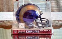 Los Angeles Rams Limited Edition Chrome Mini Helmet