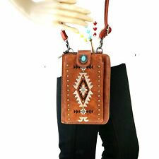 Embroidered Aztec Purse Country Western Phone Wallet Montana West Crossbody Bag