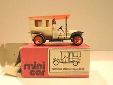 VEB mini car Oldtimer Daimler Benz 1911, Sehr gut!! 1:43?? OVP