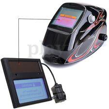 Solar Darkening Welding Helmet/Mask Goggles Lens Automation UV IR Filter Shade