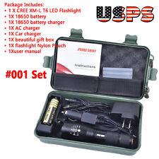 5000LM X800 Shadowhawk CREE T6 LED Flashlight Torches Lamp G700 Super Light Kits