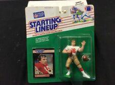 1989 Starting Lineup Joe Montana San Francisco 49ers Kenner