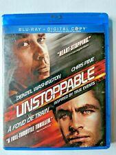 Unstoppable Blu-ray DVD 2010, Denzel Washington/Chris Pine Rated G
