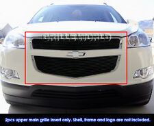 For 2009-2012 Chevy Traverse Black Billet Grille Insert