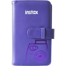 Fujifilm Instax Mini Wallet 108 Photo Album GRAPE for 7S 8 9 25 50S 90 Cameras
