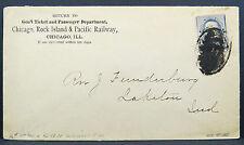 Ticket and Passenger Department Chicago Rock Island Pacific Railway  (Lot 5429