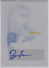 "2013 POP CENTURY PRINT PLATE AUTO: BECCA TOBIN #1/1 OF ONE AUTOGRAPH""GLEE-KITTY"""