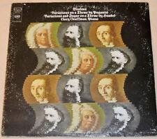 Brahms Variations On A Theme By Paganini & Handel 1964 Gary Graffman NM Vinyl