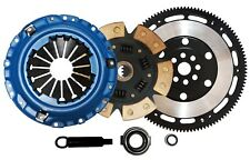QSC Stage 3 Ceramic Clutch Kit + Chromoly Flywheel 94-01 Integra B18 Hydro