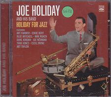 JOE HOLIDAY and his big band - holiday for jazz CD
