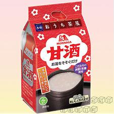 Morinaga Freeze-dried Amazake 4 Packs Instant Japanese Food