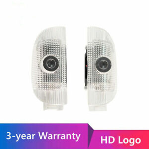 For Mercedes Benz W220 R230 LED Car Door Logo Light Projector Light with HD Logo