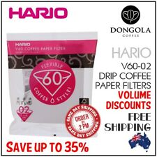 HARIO V60-02 100 White Coffee Paper Filters Dripper Pour Over Cone Cup Brewer