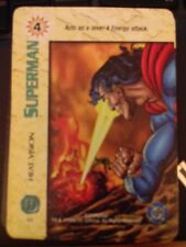 DC Overpower Superman Heat Vision NrMint-Mint Card