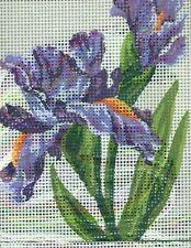 Grafitec Needlepoint Tapestry Kit - Irises