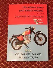 Rupert Ratio Unit Single - Everything But The Engine BSA C15 B25 B40 B44 B50