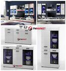 Living Room High Gloss Furniture Display Wall Unit Modern TV Unit Cabinet LAUREN