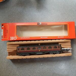 RIVAROSSI 'HO' GAUGE 2933 LMS CORRIDOR FIRST CLASS COACH '15933' MINT