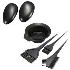 5PCS 1Set Hairdressing Brushes Bowl Salon Comb Hair Color Dye Tint DIY Tools Kit