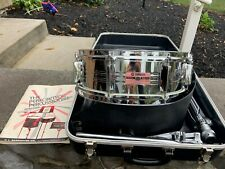 "Vintage Yamaha 14"" x 5"" SD350MG Snare Drum W/ Stand & Case Made in Japan -Clean"