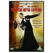 You Were Never Lovelier 5035822206137 With Fred Astaire DVD Region 2