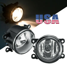 PAIR Fog Light Lamp w/ H11 Bulbs 55w Right & Left Side Car Accessories US SELLER