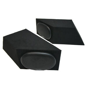 "1987-1995 Jeep Wrangler YJ Harmony R69 Speakers Dual 6x9"" Speaker Box Enclosures"