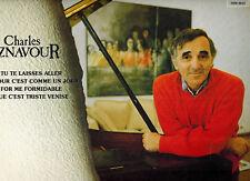 MFD IN CANADA NM 1986 FRENCH POP LP CHARLES AZNAVOUR : TU TE LAISSES ALLER