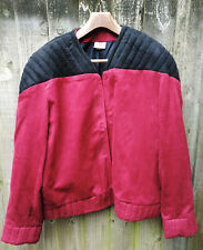 More details for genuine anovos star trek next gen captain picard leather uniform jacket uk only