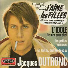 CD Single Jacques DUTRONC J'aime les filles 4-track CARD SLEEVE