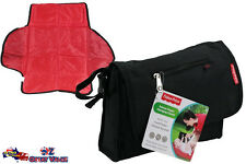 Fisher Price Deluxe Baby Nappy Changing Clutch Pocket System Build In Case Bag