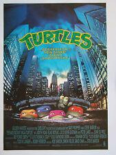 Turtles - Original Filmplakat DIN A1 (gerollt)