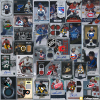 NHL 10 CARDS LOTS Pick your team: patch autograph jersey rookie legend stars SP